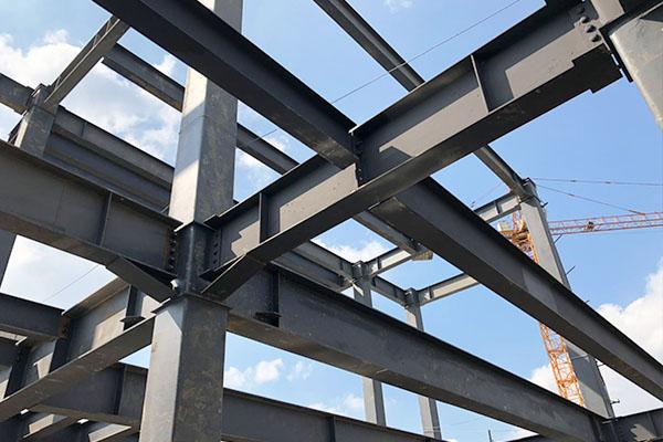 苏州450吨钢结构工程